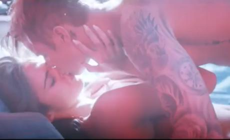 Justin Bieber Makes Sweet Love to Xenia Deli in New Video Teaser