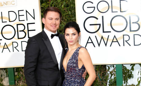 Channing Tatum and Jenna Dewan-Tatum: 73rd Annual Golden Globe Awards