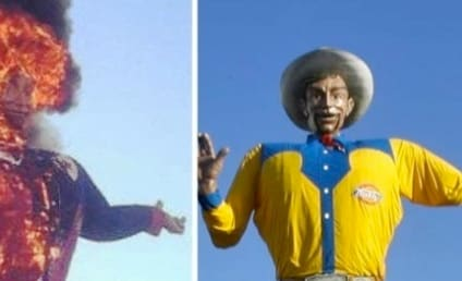 Big Tex: On Fire!