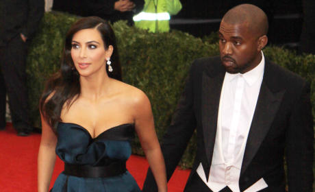 Kim and Kanye at the MET Gala