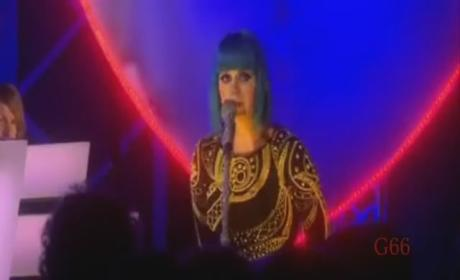 "Katy Perry Covers ""N---as in Paris"" in UK"