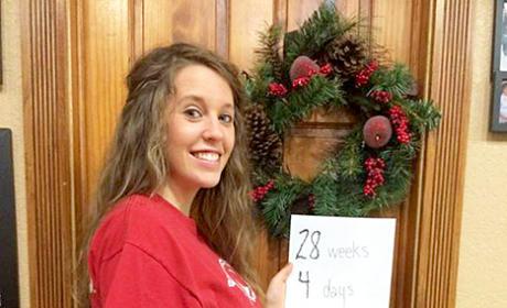 Jill Duggar Baby Bump: 28 Weeks!