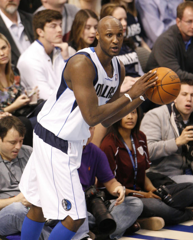 Lamar Odom in Action