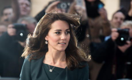Kate Middleton Hates Her Bangs, Blames The Queen