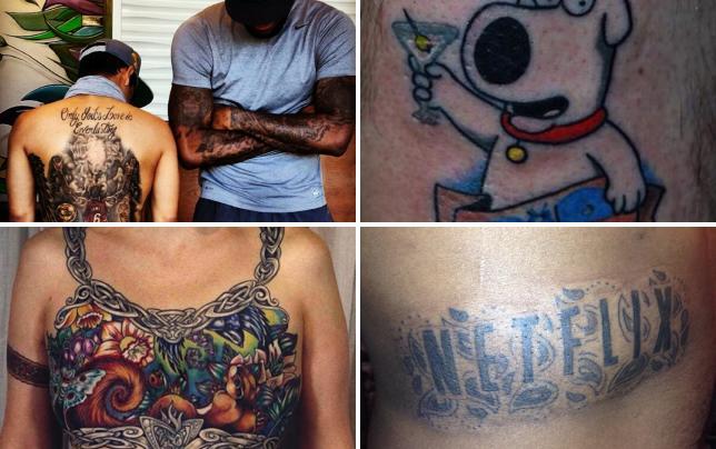 Lebron james back tattoo