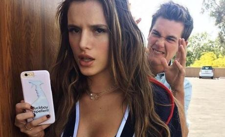 Bella Thorne Flaunts Perfect Abs, Talks F--kboys