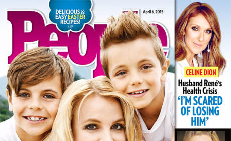 Britney Spears People Magazine Cover