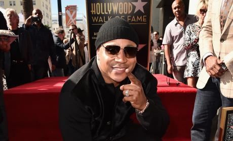 LL Cool J Gets A Star on The Hollywood Walk of Fame