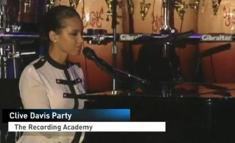 Clive Davis Mourns Whitney Houston at Pre-Grammy Awards Party