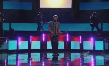 Josiah Hawley - Clocks (The Voice Top 10)
