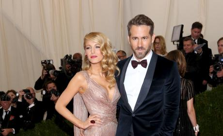 Blake Lively and Ryan Reynolds at MET Gala