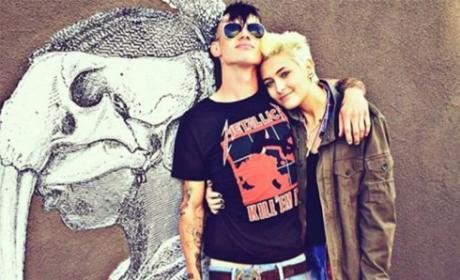 Paris Jackson With Michael Snoddy