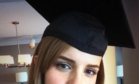 Emma Watson Graduates from Brown!!!