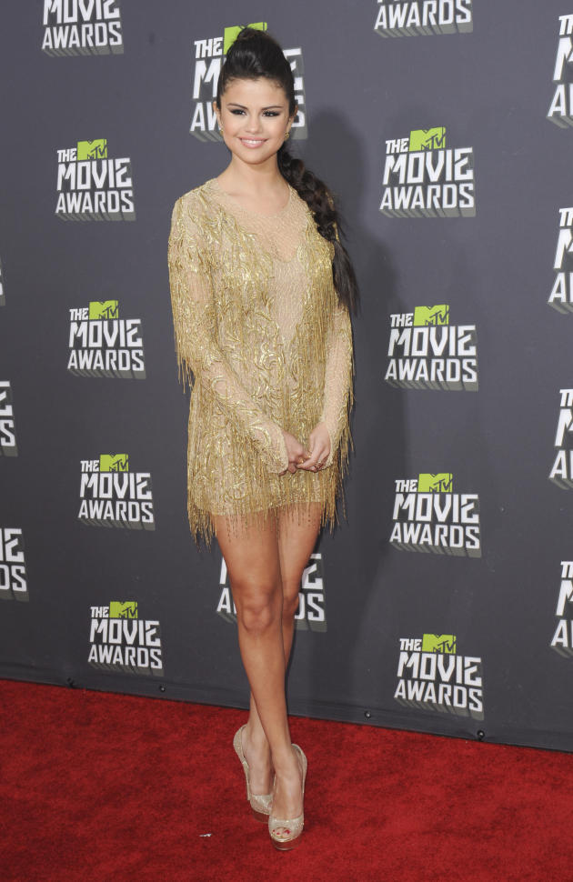 Selena Gomez at 2013 MTV Movie Awards
