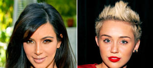 Miley Cyrus: Throwing Shade at Kim Kardashian on Instagram?