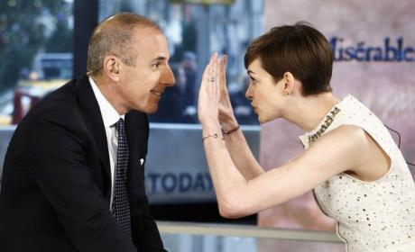 Matt Lauer to NBC: Free Ann Curry!