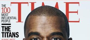 Kanye West Time Cover