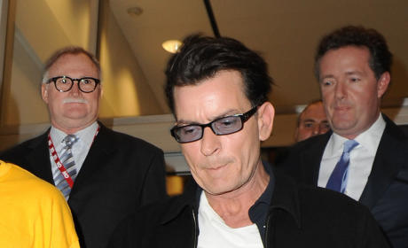 Charlie Sheen Exiting CNN