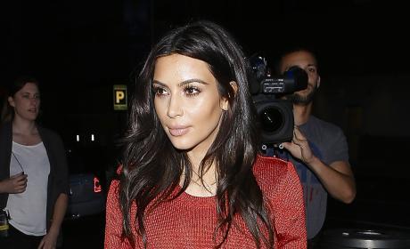 Kim Kardashian Out and About Photo