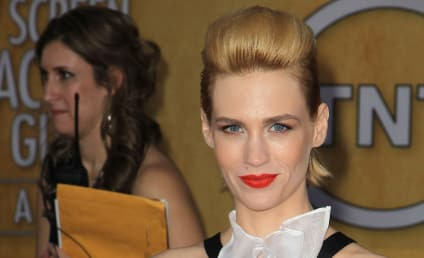January Jones: Not Looking For a Baby Daddy!