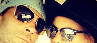Adam Levine and Behati Prinsloo: First Photo as Newlyweds!