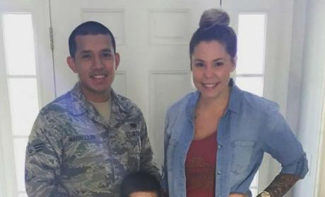 Kailyn Lowry and Javi Marroquin and Son