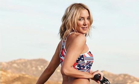 Kate Hudson in Bikini Pic: Yep, My A** Is Photoshopped!