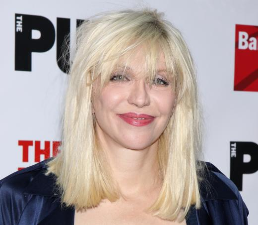 Courtney Love on the Red Carpet