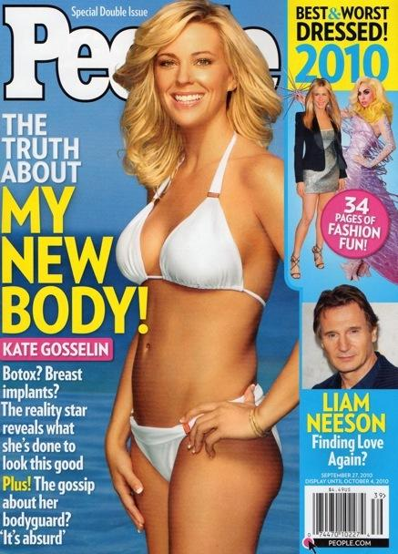 Kate Gosselin, New Body