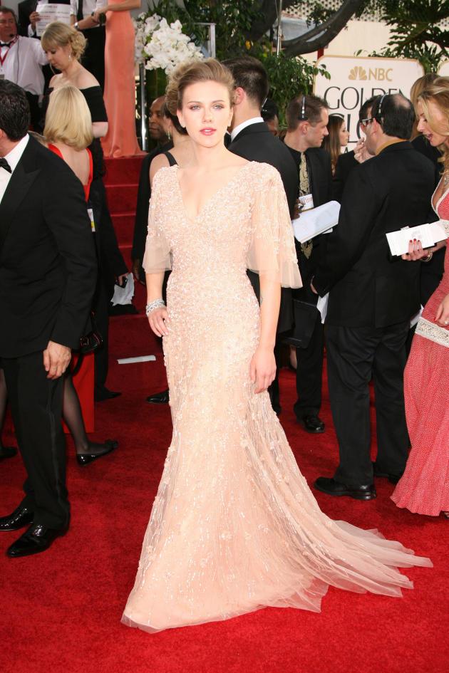 Scarlett Johansson Golden Globe photo