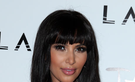 Kim Kardashian Resolves to Look Ahead in 2012