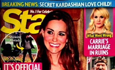 Kate Middleton Tabloid Report