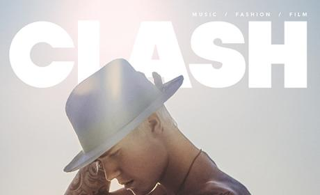 Justin Bieber: Naked for Clash Magazine! Sort Of!