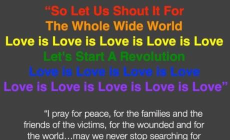 LeAnn Rimes Orlando Shooting Tribute