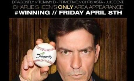 Charlie Sheen Shows Love for Drag Queens. And Charitable Causes.