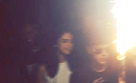 Justin Bieber and Selena Gomez: Definitely Back On... For Now
