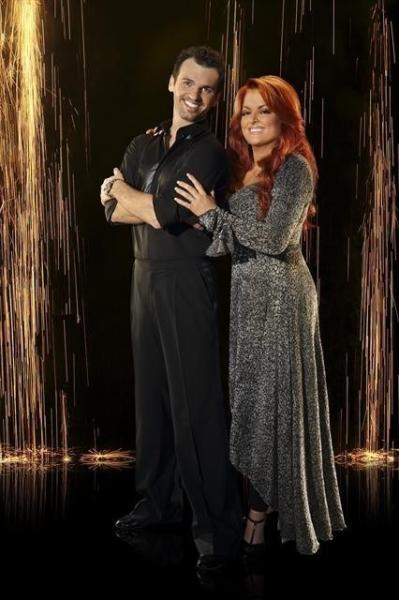 Wynonna Judd and Tony Dovolani