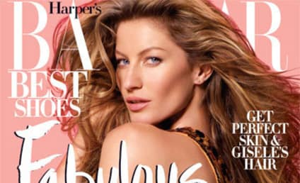 Gisele Bundchen: Hot in Harper's Bazaar