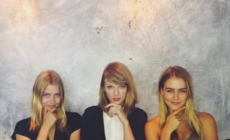 Taylor Swift and Models