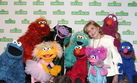 Barbara Walters Sesame Street Pic