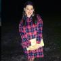 Amy Duggar Models a Flannel Dress