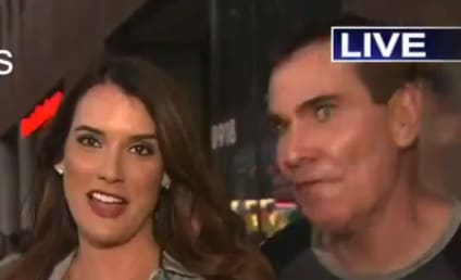 Man to Reporter on Live Television: You're So F-ckin Hot!