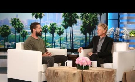 Shia LaBeouf on Ellen