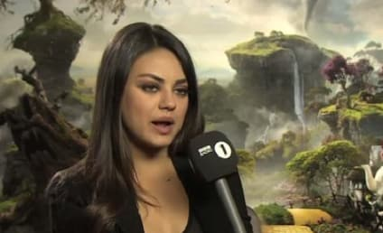 Mila Kunis Calms Down Nervous British Reporter, Is Totally Awesome