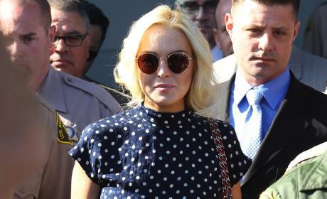 """Lindsay Lohan Playboy Pics """"Tasteful,"""" Mom Promises"""