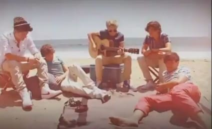 "One Direction Goes Acoustic, Covers ""Wonderwall"""