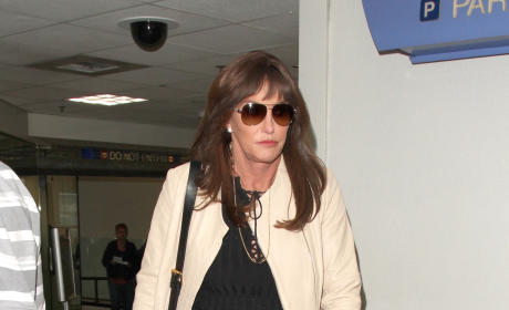 Caitlyn Jenner at LAX