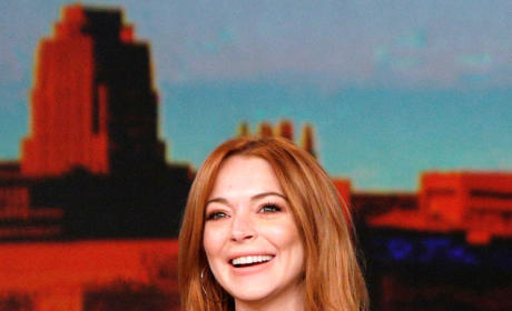 Lindsay Lohan Co-Hosts The View, Loves Being Sober