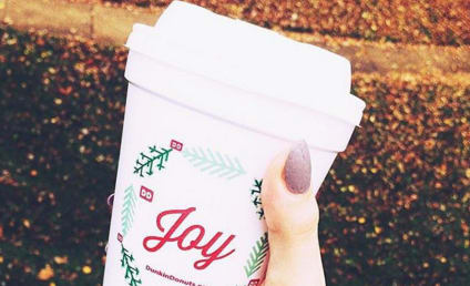 Dunkin Donuts Unveils Holiday Cups, Sticks It to Starbucks