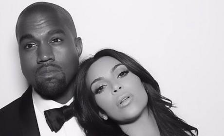 Kimye in Black and White